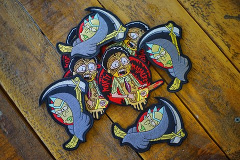 "Rick Reaper & Morty Massacre 4"" Velcro Patch"