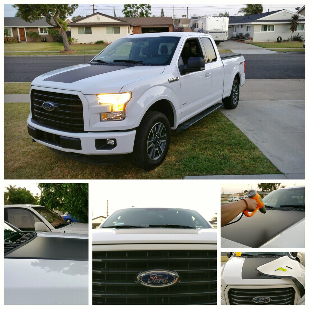 Amaesing F150 Matte Black Hood Decal
