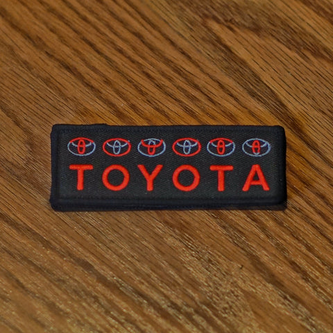 TOYOTA Symbols Patch