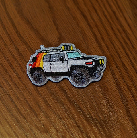 "FJ Cruiser Amaesing OG 3 Stripe 4"" Patch"
