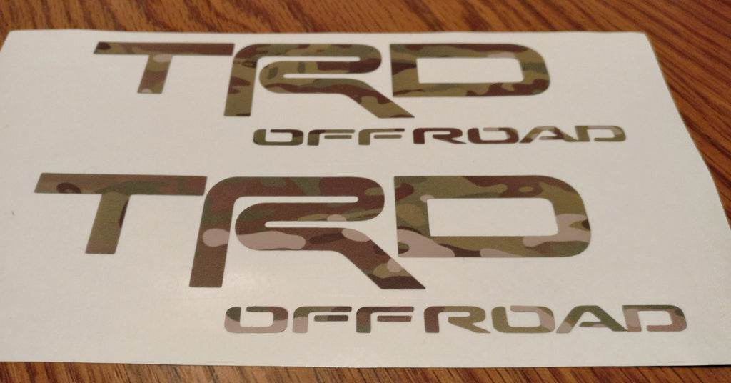 "TRD Off-road 6"" MultiCam® sticker"