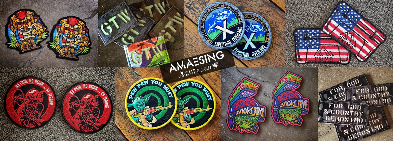 Amaesing Decals & Patches