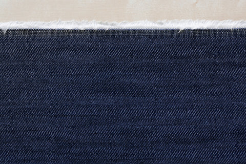 12 Oz Cone Mills S-Gene Denim in Indigo II (1/2 yard)