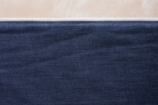 11 Oz Cone Mills S-Gene Denim in Indigo (1.1 yard Remnant)