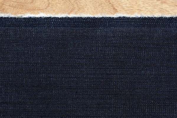 12 Oz Cone Mills S-Gene Denim in Indigo (0.9 yard Remnant)