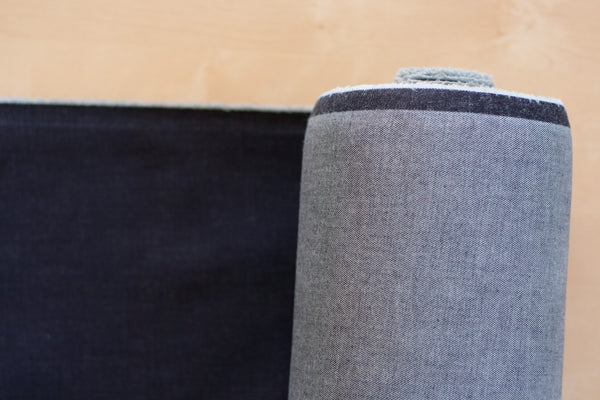 12 Oz Cone Mills S-Gene Denim in Indigo (1.4 yard Remnant)
