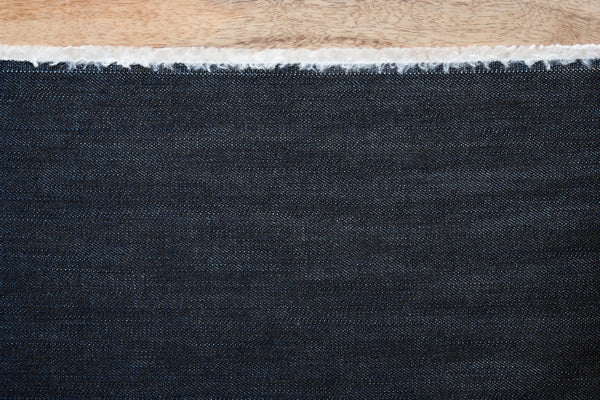 10 Oz Cone Mills Denim in Indigo (1/2 yard)