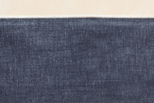 9.5 Oz Cone Mills S-Gene Denim in Indigo (1/2 yard)