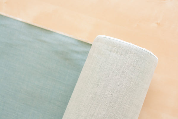 9 oz Cone Mills Denim in Mint Green (1/2 yard)