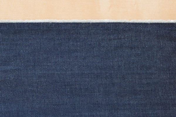 9 oz Cone Mills S-Gene Cotton & Tencel Blend Denim in Indigo (.95 yard Remnant)