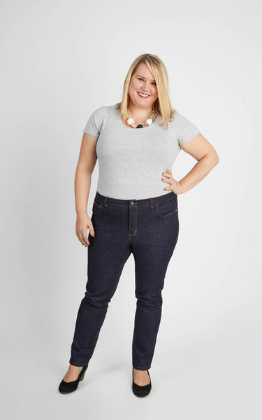 Cashmerette - Ames Jeans Sewing Pattern