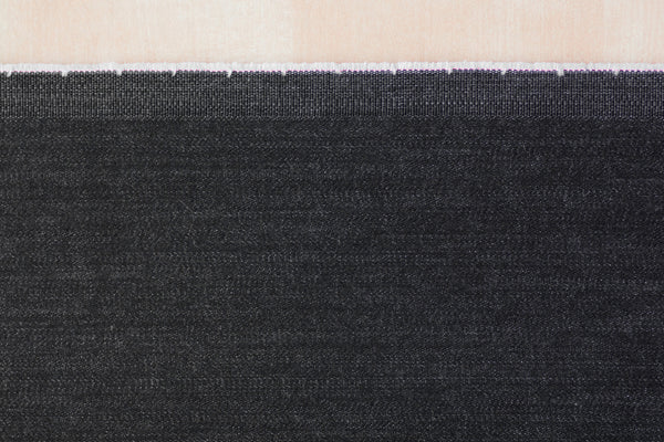 10 Oz Turkish Stretch Denim in Black (1/2 yard)
