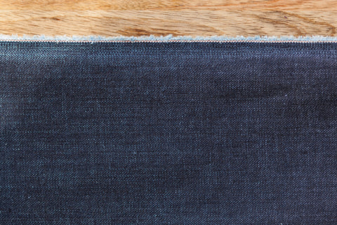 11.5 Oz Cone Mills S-Gene Denim in Indigo (1/2 yard)