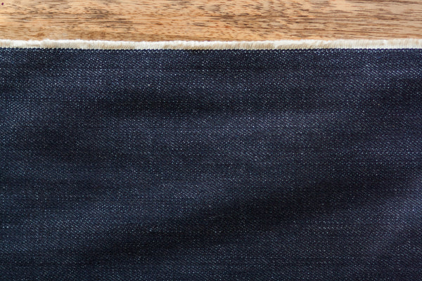 12.5 Oz Cone Mills Rigid Denim in Indigo (1.1 yard Remnant)