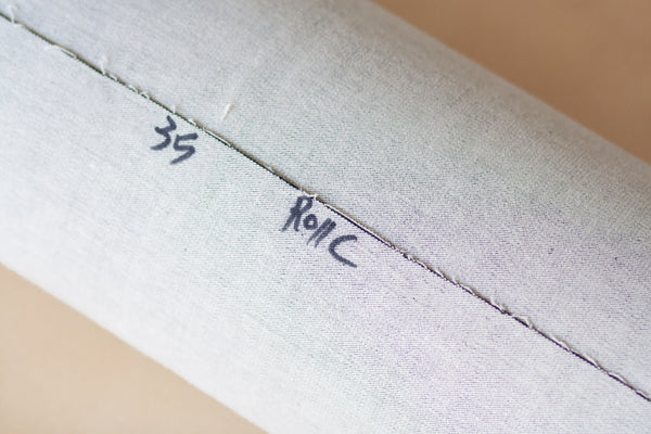 11 Oz Cone Mills S-Gene Denim in Black - Flawed Remnant Yardage (1/2 yard)
