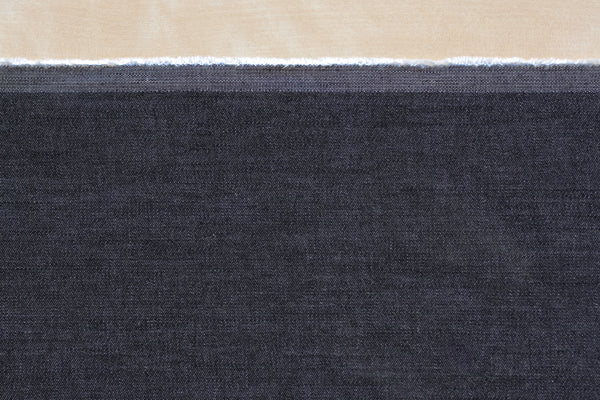 11 Oz Cone Mills S-Gene Denim in Black (1.2 yard Remnant)