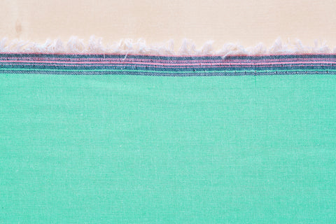 4 Oz Chambray Shirting in Mint (1/2 yard)