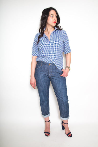 Closet Case Patterns - Morgan Boyfriend Jeans Sewing Pattern