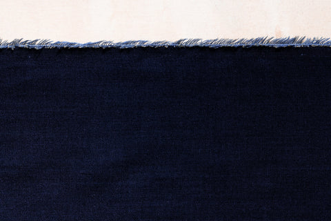 4 Oz Dark Indigo Tencel Chambray Shirting (1/2 yard)