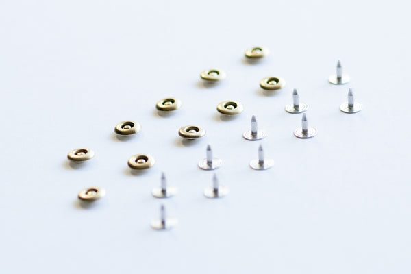 Set of 10 Jeans Rivets