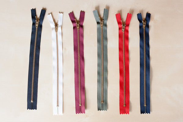 "9"" Metal Jeans Zipper"