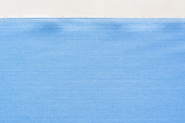 10 Oz Japanese Stretch Rayon Denim in Light Blue (1/2 yard)