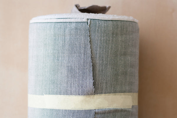 9 oz Cone Mills Denim in Olive Green (1/2 yard)