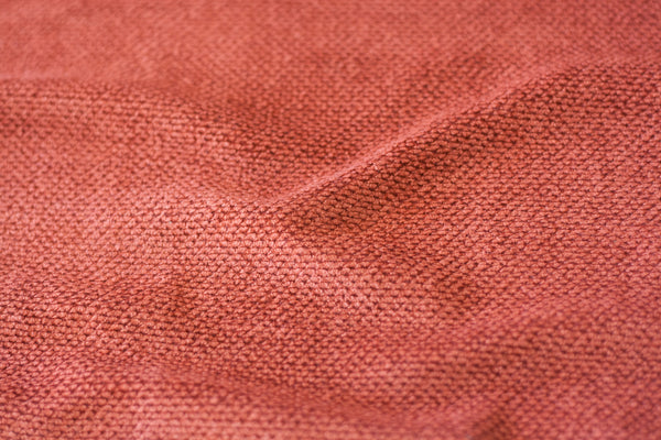 Chenille Sweater Knit - Burnt Orange (1/2 yard)