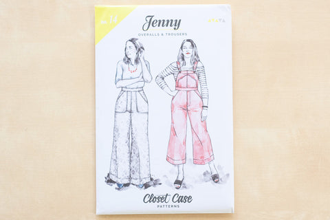 Closet Core Patterns - Jenny Overalls & Trousers Sewing Pattern