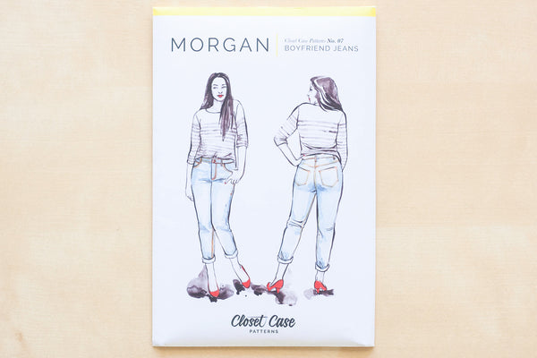 Closet Core Patterns - Morgan Boyfriend Jeans Sewing Pattern