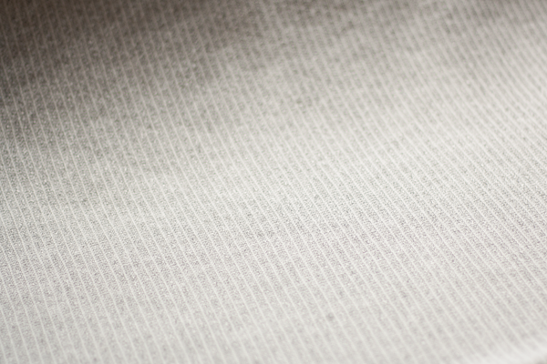 Sweater Knit - Ivory/Gray Subtle Stripes (½ yard)