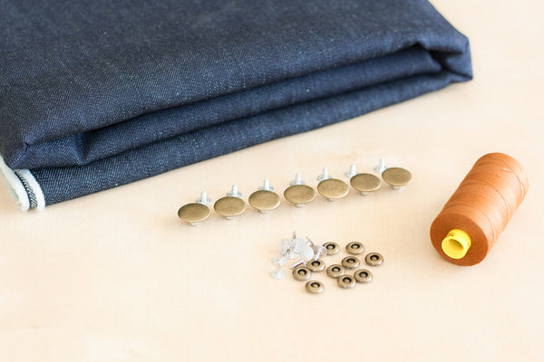 Custom Nonstretch Jeans Making Kit (2.5 yards)
