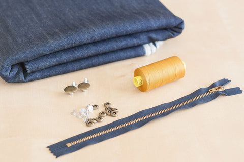 Custom Stretch Jeans Making Kit (3 yards)