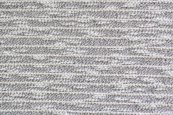 Sweater Knit - Boucle Black and White Stripes (1/2 yard)