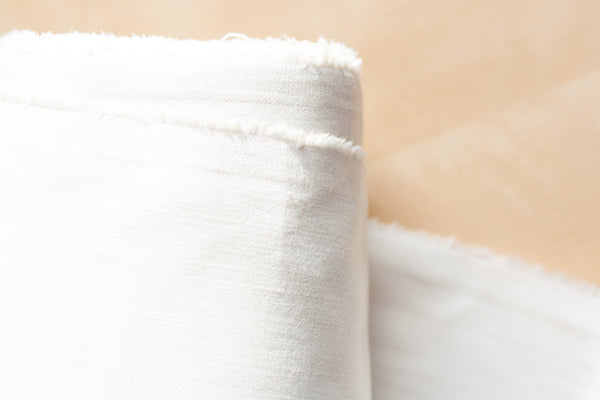 9.5 Oz Cone Mills S-Gene Denim in White (1 yd Remnant)