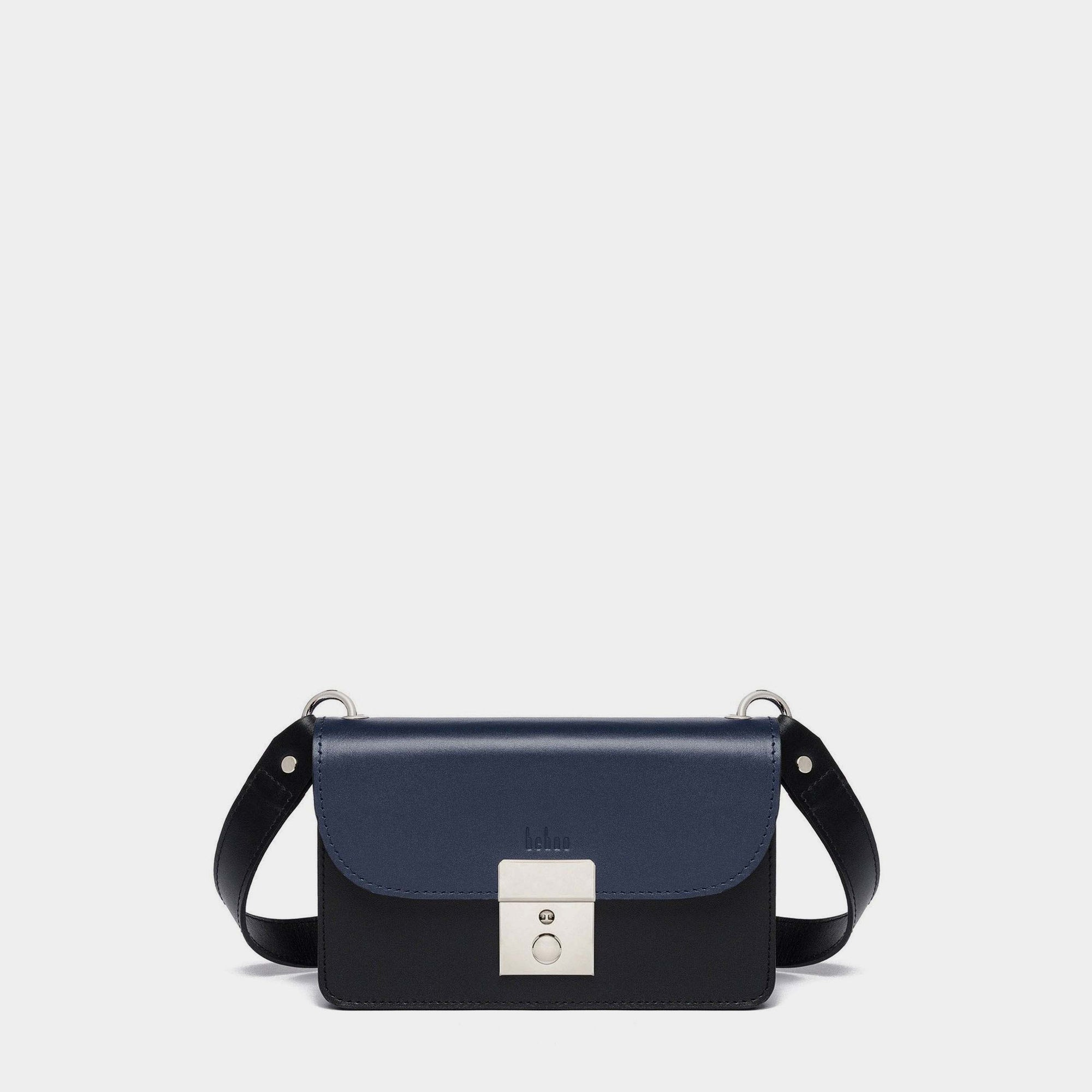 AMANDA BELT BAG NAPPA NAVY