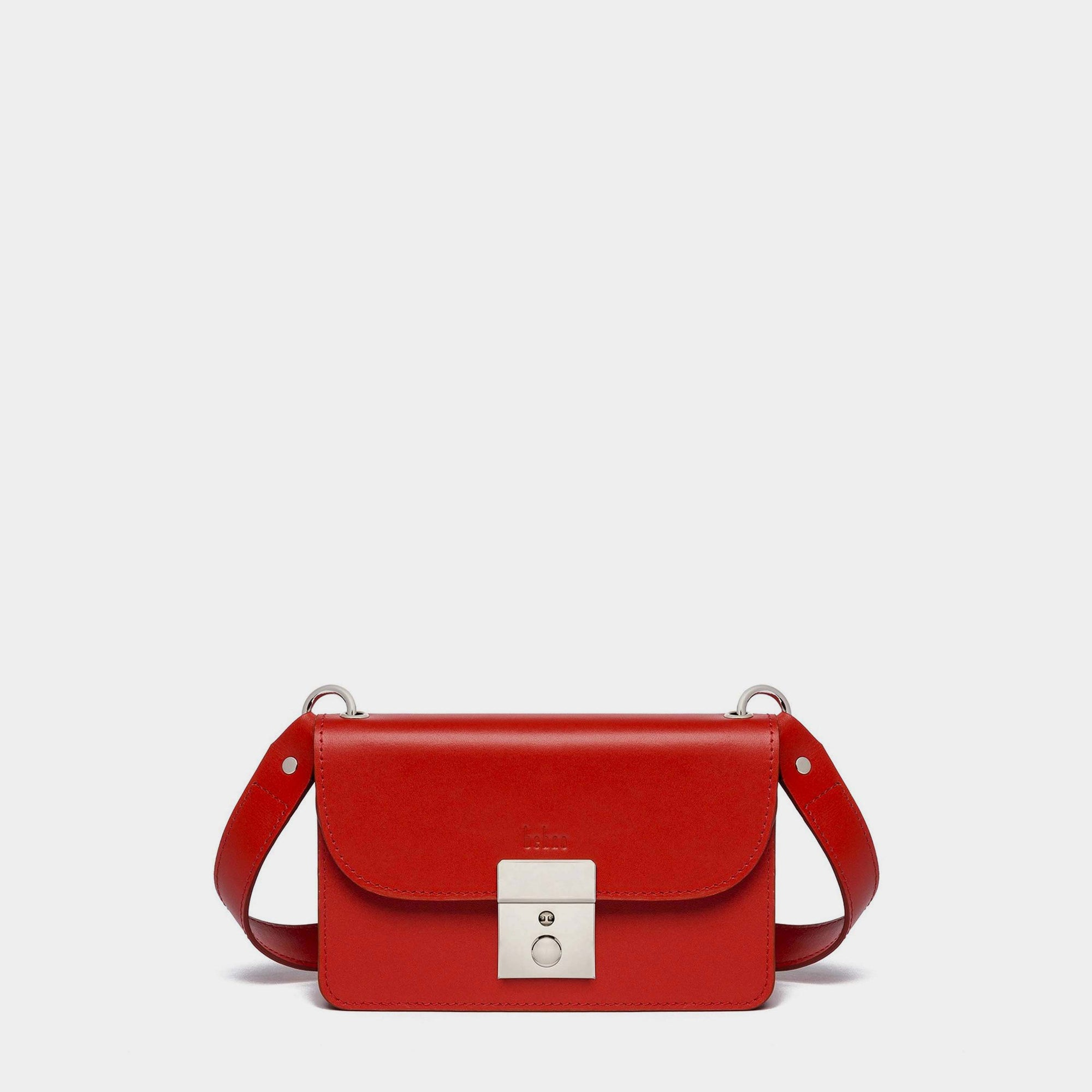 AMANDA BELT BAG NAPPA RED
