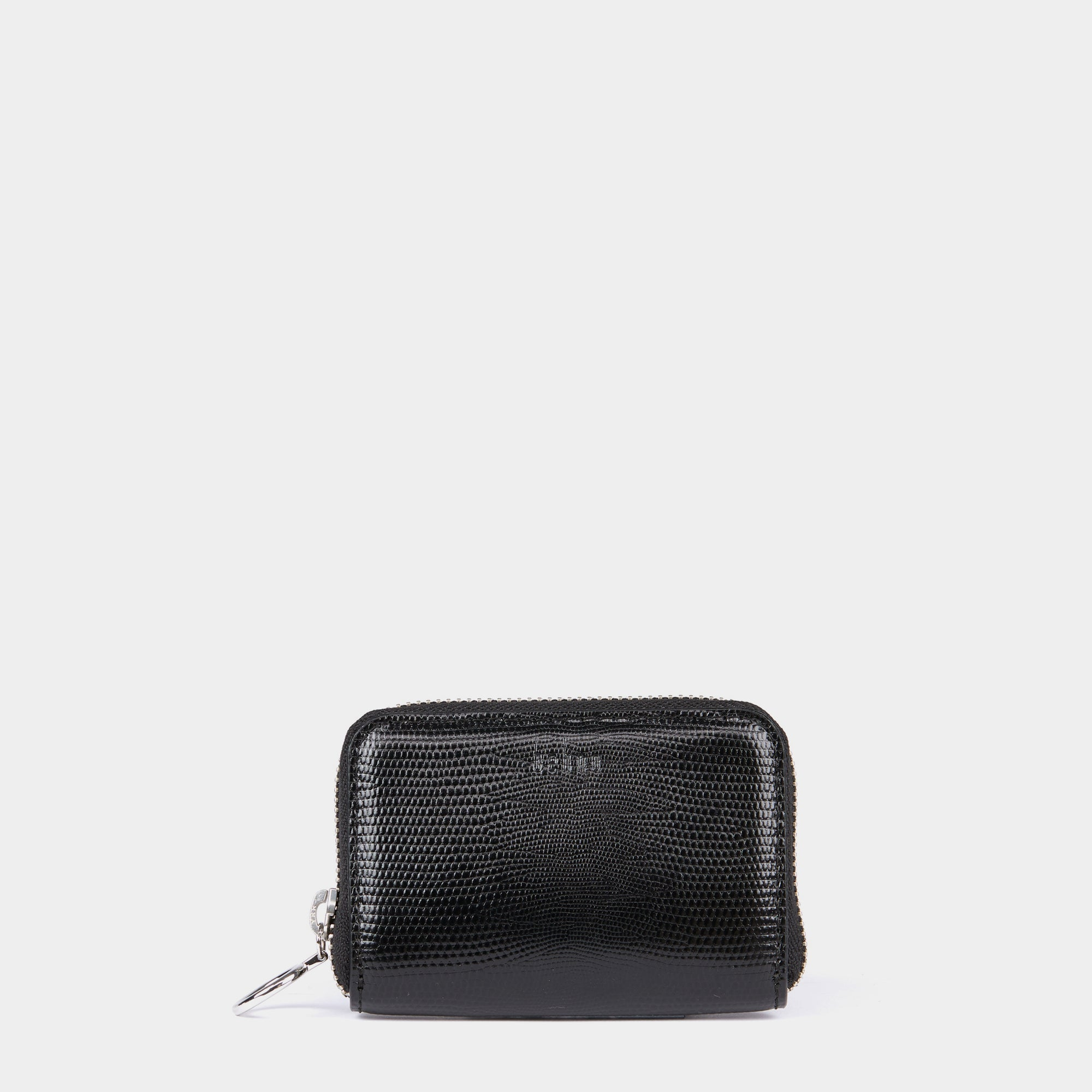 DEVON WALLET LIZARD BLACK