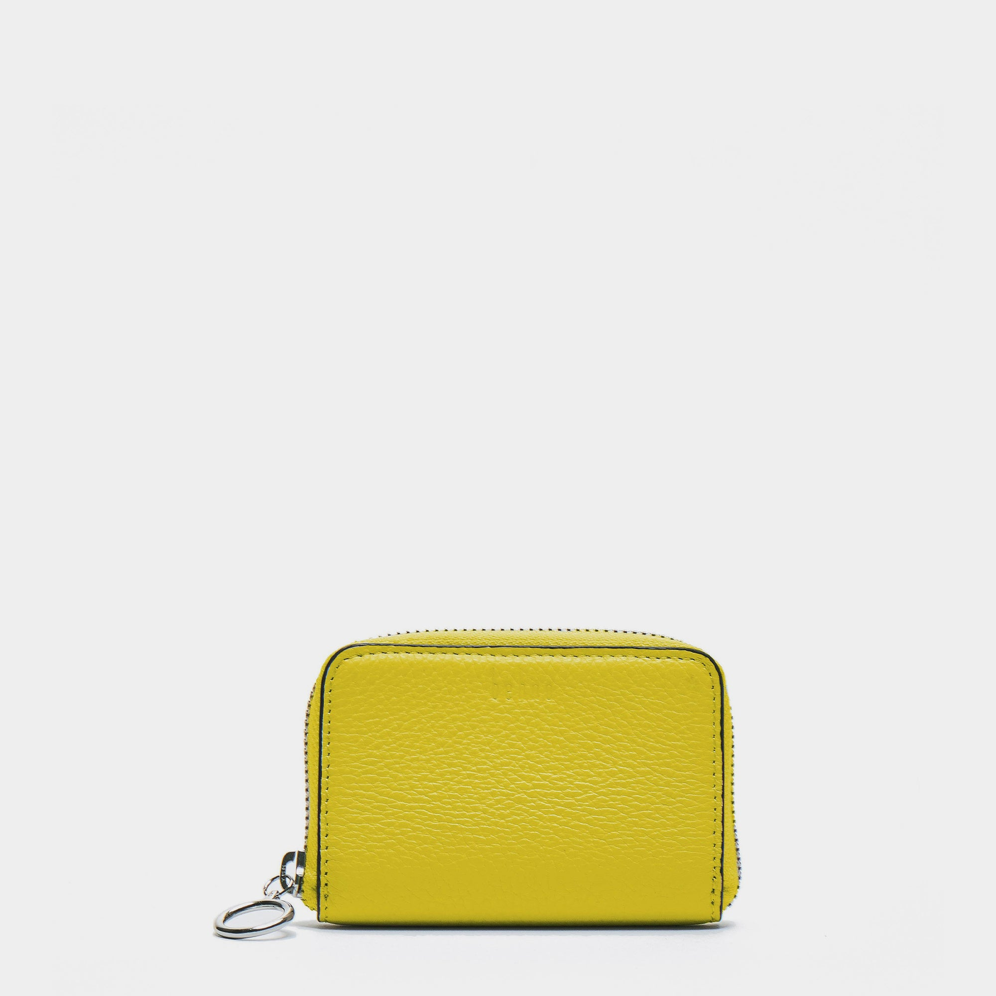 DEVON WALLET PEBBLE YELLOW