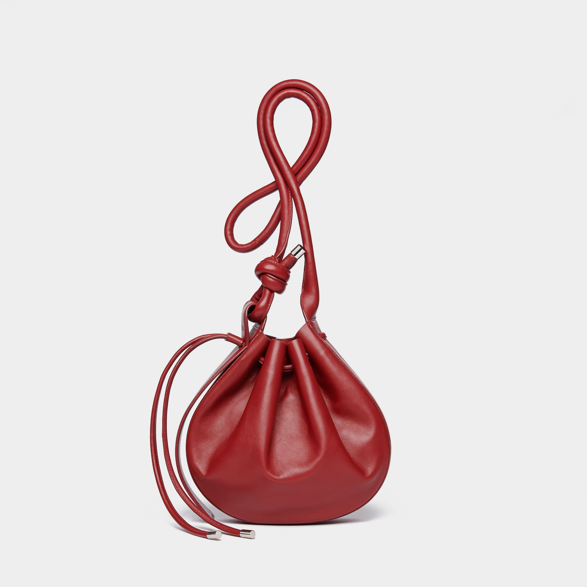 INA CROSSBODY NAPPA DEEP RED