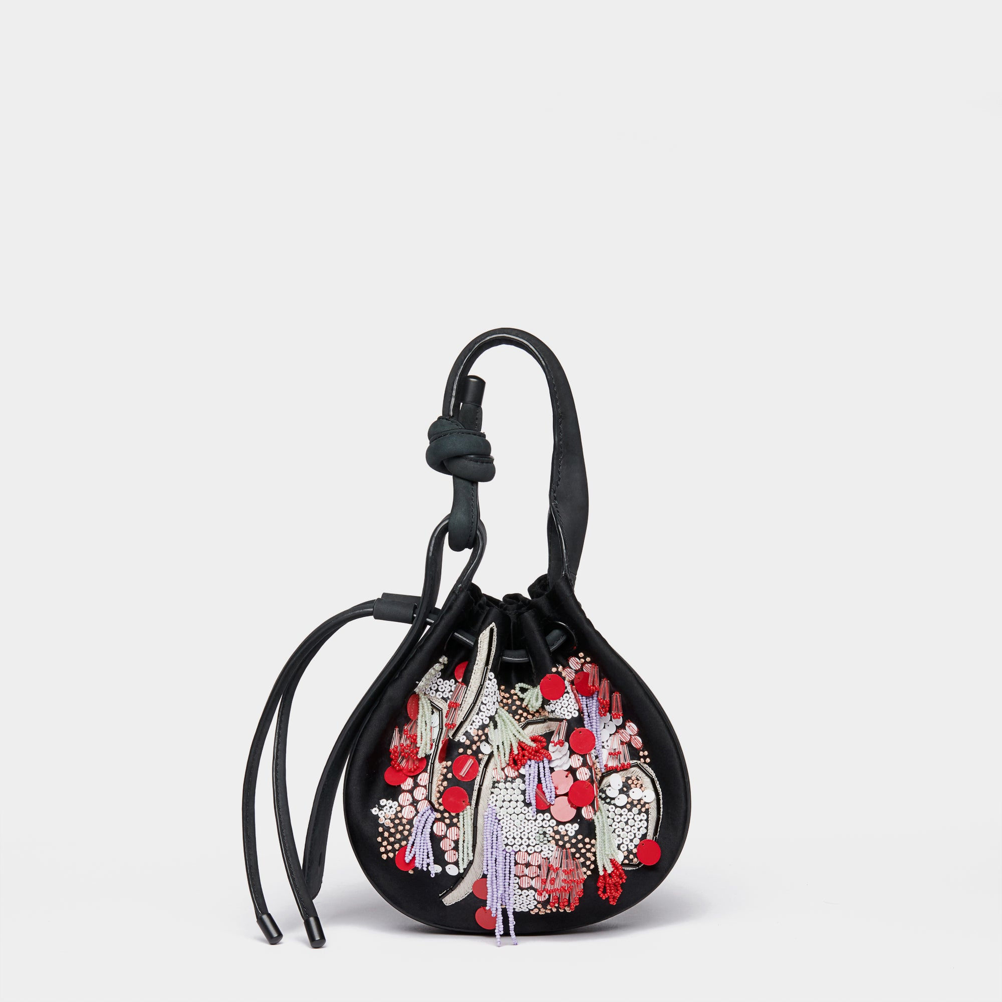 INA MINI CROSSBODY ROCK GARDEN BLACK MULTI