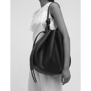 INA BAG LARGE PEBBLE BLACK