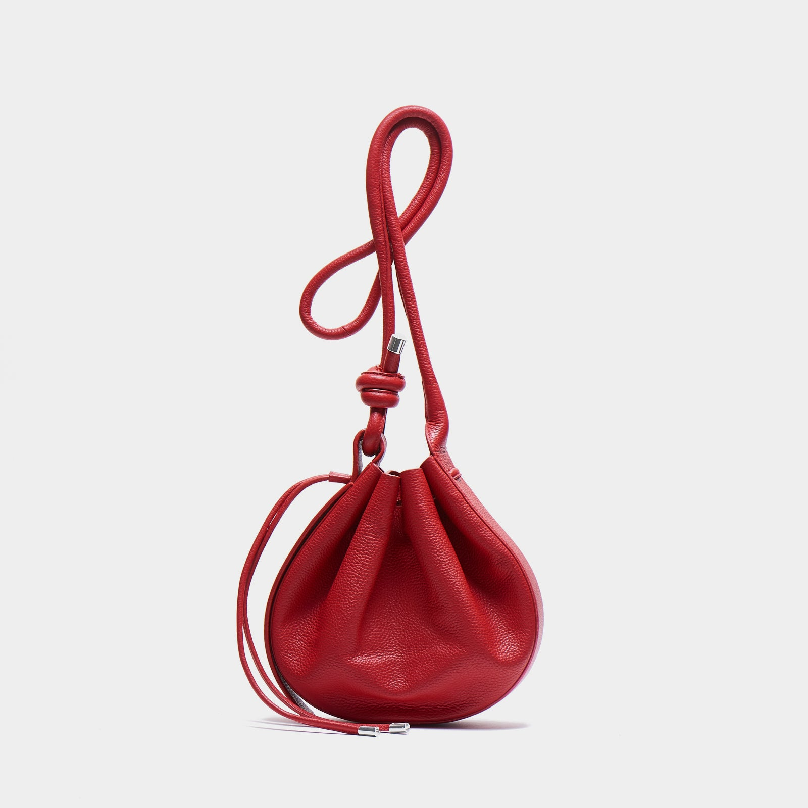INA CROSSBODY PEBBLE RED