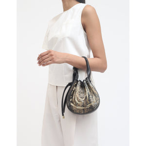 INA MINI CROSSBODY DROP CLOTH CHAMPAGNE