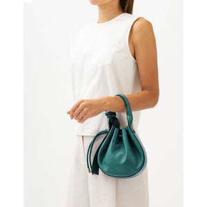 INA MINI CROSSBODY PEBBLE AVOCADO
