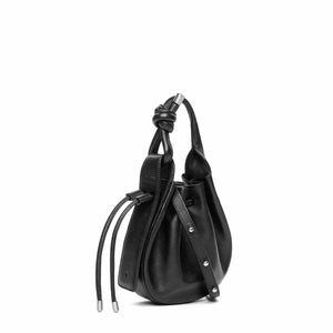 INA MINI CROSSBODY PEBBLE BLACK