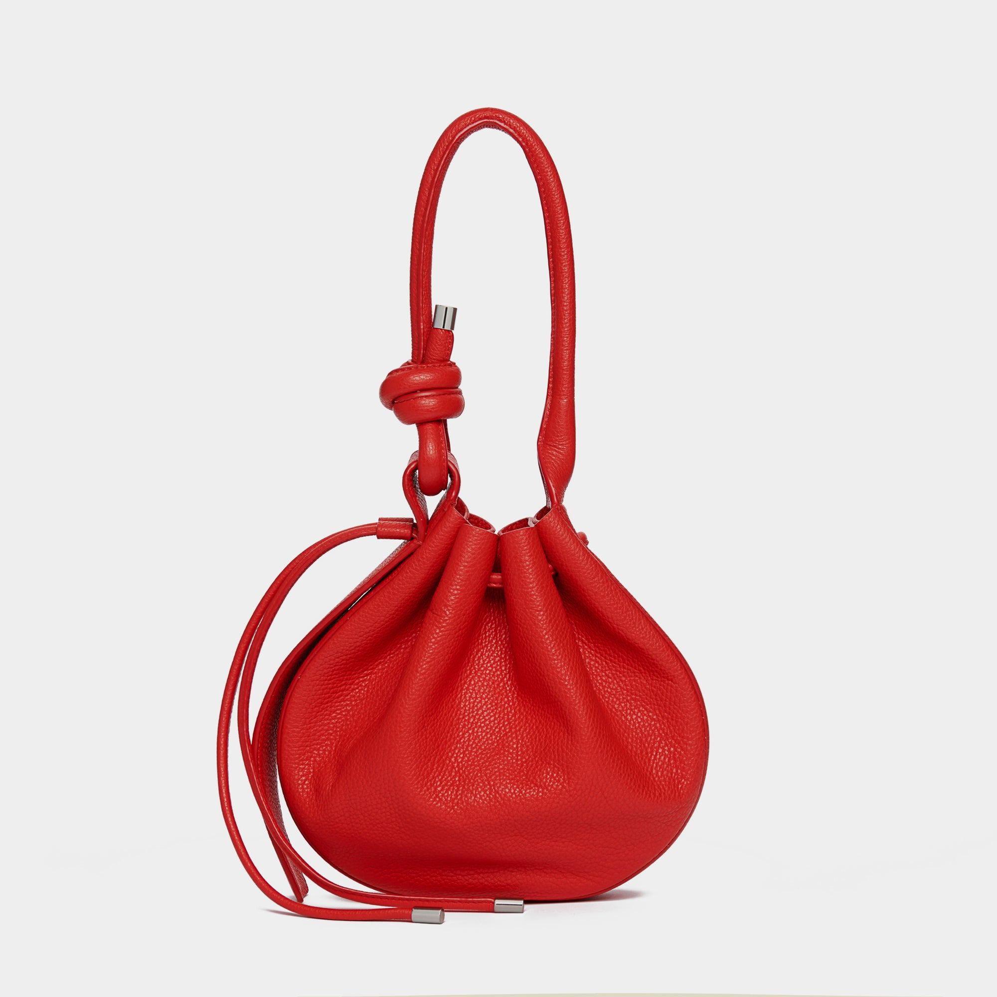 INA BAG MEDIUM PEBBLE RED