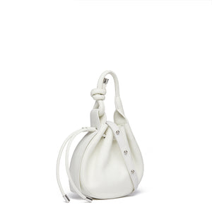 INA MINI CROSSBODY PEBBLE WHITE