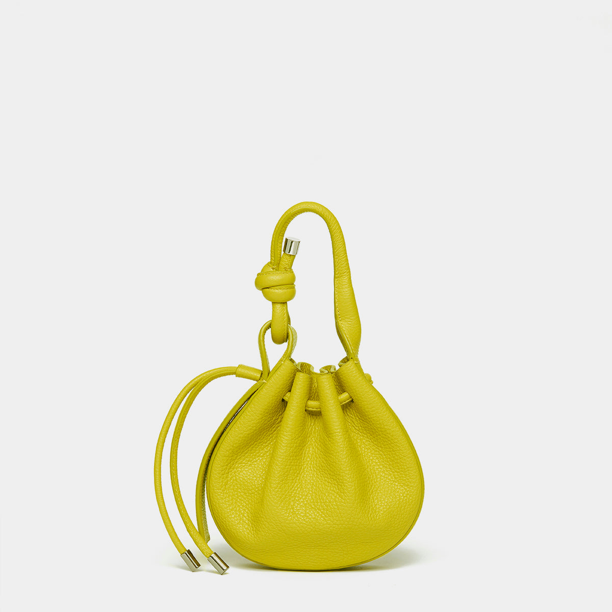INA MINI CROSSBODY PEBBLE YELLOW