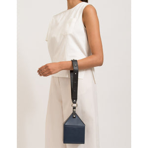 JULIE BAG NAPPA NAVY/BLACK